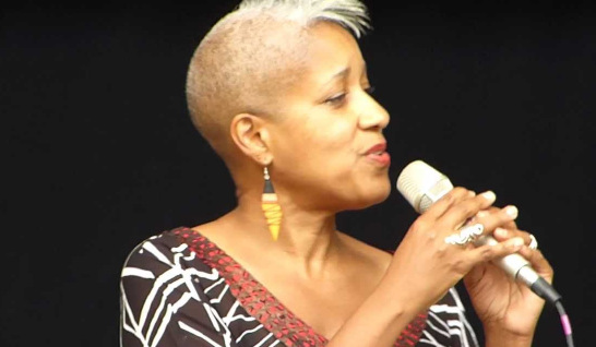 Rene Marie w/ The H2 Big Band @ The Estes Park Jazz Festival, Columbia, MD