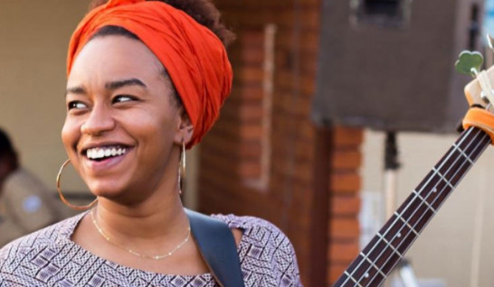 The Sudanese jazz bass player helping her country's 'revolution'