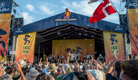 Jazz Fest's foundation also marks 50 years